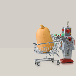 robot-and-trolley-with-butternut-squash-owen-smith