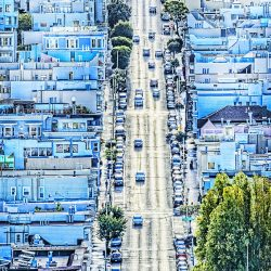 city_street_car__house__high_angle_view_san_francisco__116681