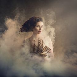 woman_ship_portrait_smoke_dream__129535