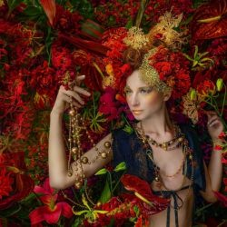 woman_portrait_flowers_red__130836