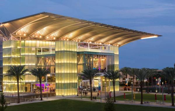 Photograph Steve Williams Dr Phillips Performing Arts Center on One Eyeland