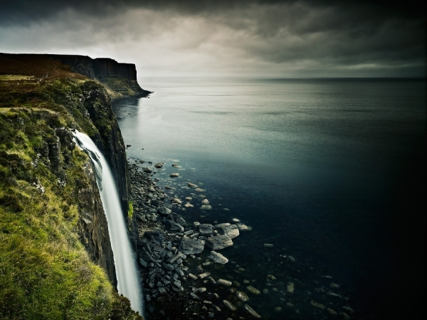 Mealt Waterfall Isle Of Skye by Julian