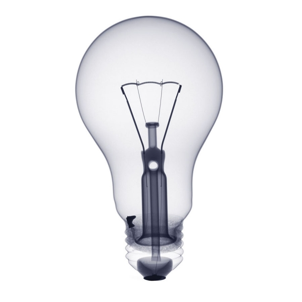 Photograph Nick Veasey Bulb on One Eyeland