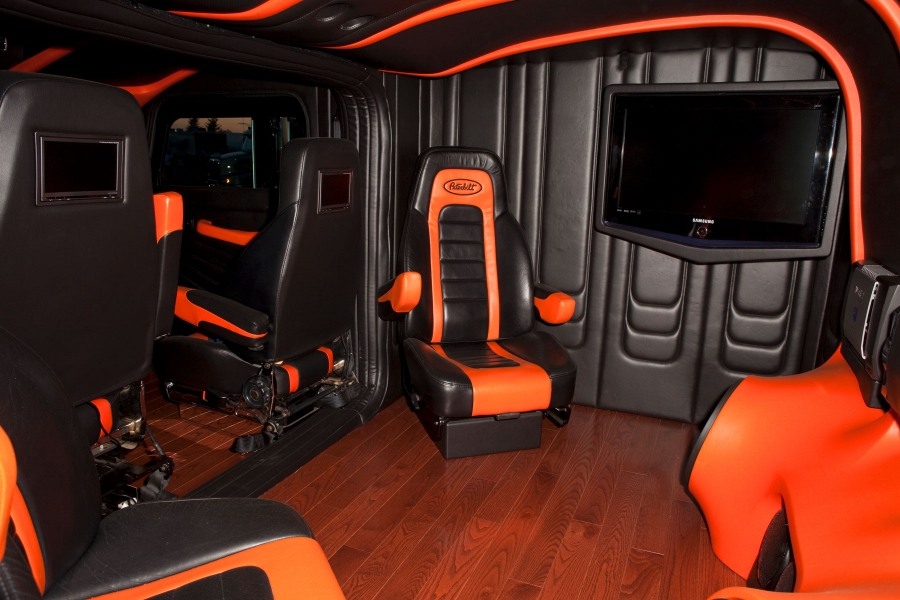 Semi Truck Custom Interior Designs For Pinterest