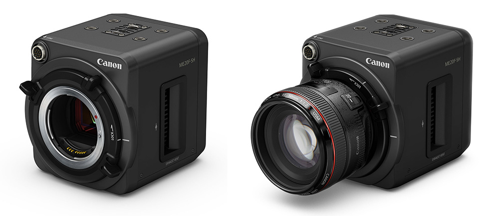Photography News - Canon's new ME20F-SH camera shoots video at ISO 4,000,000 Canon ME20F-SH