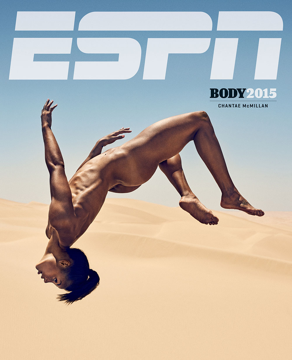 Photography News - Stunning sporty nudes by ESPN Chantae McMillan photographed by Carlos Serrao