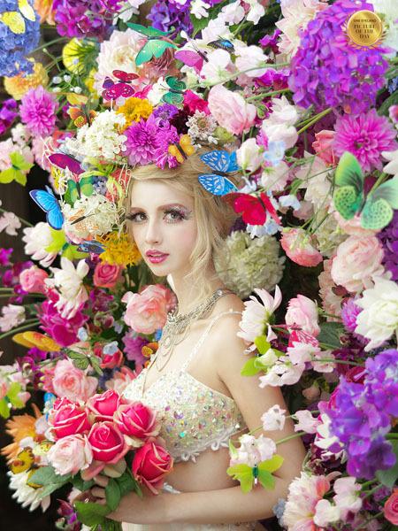 Photograph Haseo Hasegawa Colorful on One Eyeland
