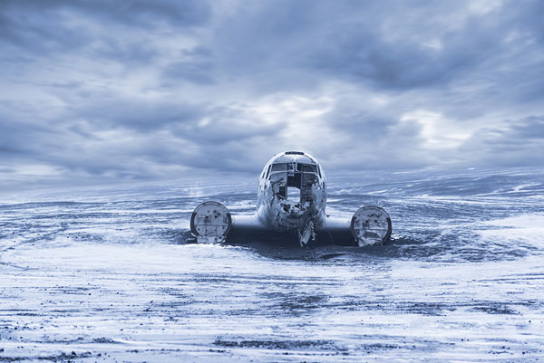 Photograph Sharad Haksar Frozen In Time Iceland on One Eyeland