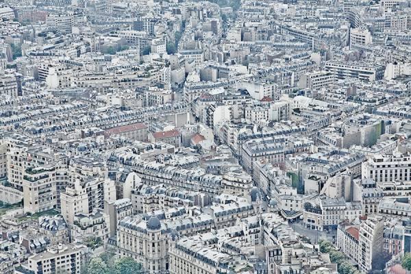 Photograph Sharad Haksar Paris on One Eyeland