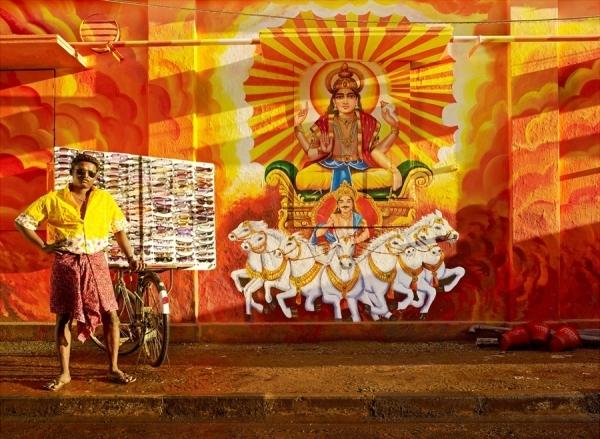 Photograph Sharad Haksar Divine Irony Surya on One Eyeland