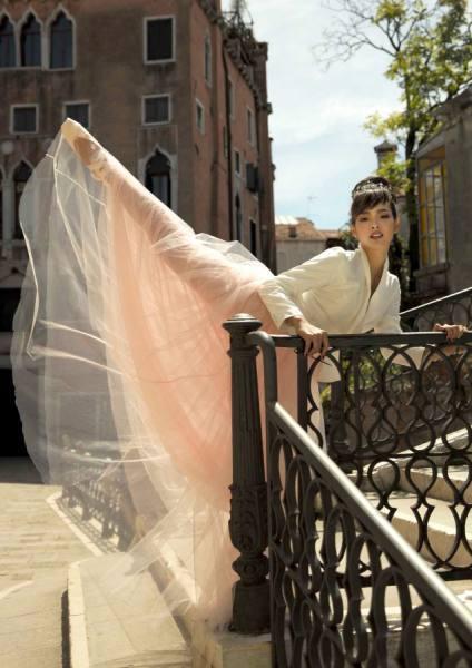 Photograph Eaggamon Attagamon Ballerina In Venice on One Eyeland