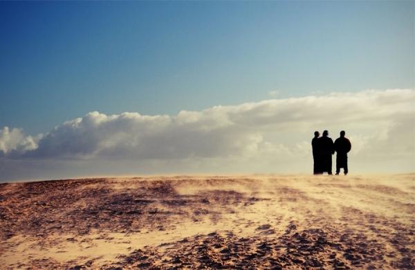 Photograph Jan Lykke Sandstorm on One Eyeland