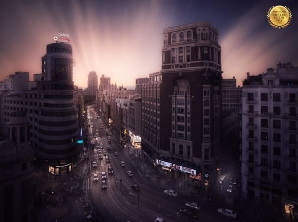 Photograph Ivan Ferrero Gran Via De Madrid on One Eyeland