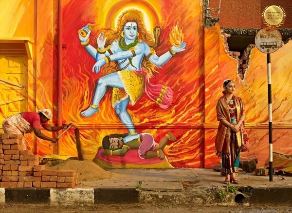 Photograph Sharad Haksar Divine Irony Shiva on One Eyeland