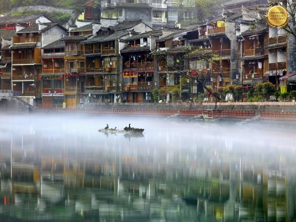 Photograph Thierry Bornier Water  Town on One Eyeland