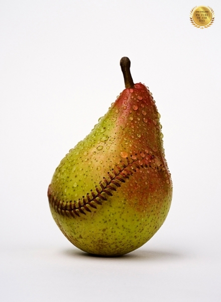 Photograph Jose Laino Baseball Pear on One Eyeland