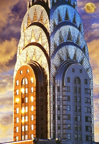 Photograph Mitchell Funk Chrysler Building Top on One Eyeland