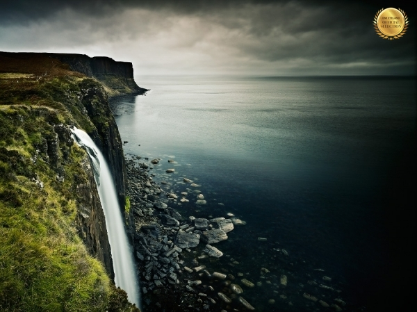 Photograph Julian Calverley Mealt Waterfall Isle Of Skye on One Eyeland