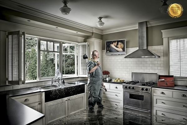 Photograph Matt Silk Plumber on One Eyeland