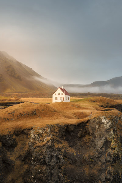 Photograph Dani Vottero Solitary House on One Eyeland