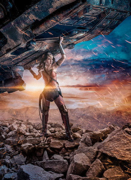 Photograph Antti Karppinen Wonder Woman on One Eyeland
