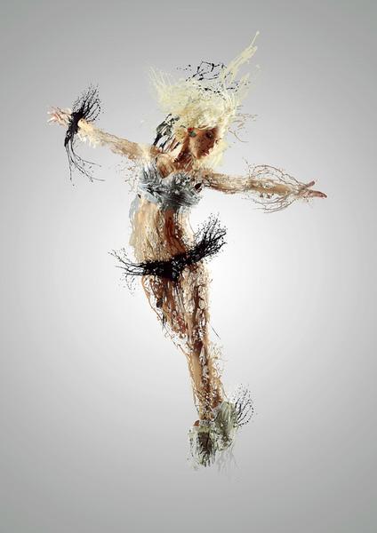 Photograph Jose Reis Liquid Dancer on One Eyeland