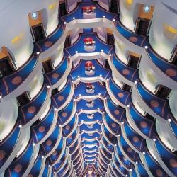 Burj Al Arab Hotel, Dubai-Victor Romero-silver-ARCHITECTURE-Interiors -993