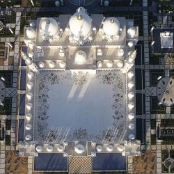 The Sheikh Zayed Grand Mosque, Abu Dhabi-Victor Romero-bronze-ARCHITECTURE-Aerial-497