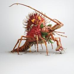 Monster in mount-Surachai Puthikulangkura-silver-CGI ARTIST-CGI Artist-967