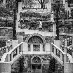 Die strudlhofstiege-Yasuhiro Sakuda-bronze-ARCHITECTURE-Cityscapes -1083