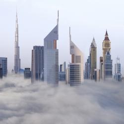 Sheikh Zayed road-Victor Romero-bronze-ARCHITECTURE-Cityscapes -1104