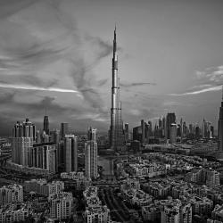 Oldtown and Burj Khalifa-Victor Romero-finalist-ARCHITECTURE-Cityscapes -1105