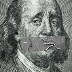 Sad Ben Franklin-David Stinson-silver-ADVERTISING-Conceptual -1165