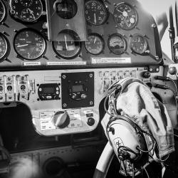 Acrobatic Pilot-Werner Dursteler-silver-PEOPLE-Portrait -1206