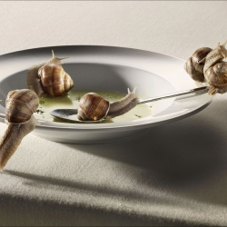 Renaissance-Simon And Kim-bronze-ADVERTISING-Food -1232