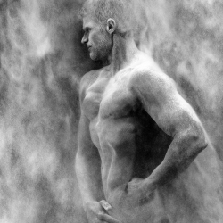 Weltmeister im WWF Classic Fitness Christian Bonczyk-Morten Rygaard-Bronze-FINE ART-Nudes -1725