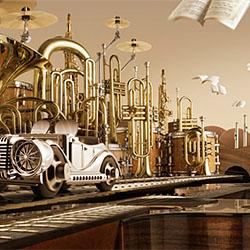 Musical City-Carl Warner-gold-ADVERTISING-Conceptual -2336