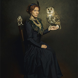 fine art-Carola Mouthaan-bronze-FINE ART-Portrait -2442