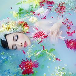 Flower Mermaid-Haseo Hasegawa-bronze-FINE ART-Other -2484