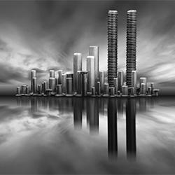 Cities-Antonio Coelho-bronze-FINE ART-Still Life -3205