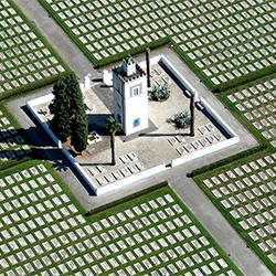 War Cemetery-Franco Cappellari-silver-ARCHITECTURE-Aerial-3815
