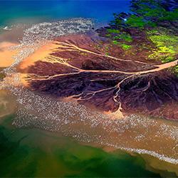 One million flamingos-Franco Cappellari-silver-NATURE-Aerial -3816
