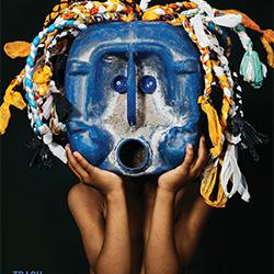 African Trash Masks-Shawn Van Eeden-gold-ADVERTISING-Conceptual -3789