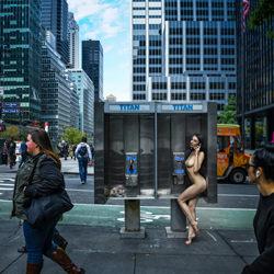 Nude in New York City-Kristian Liebrand-bronze-FINE ART-Nudes -4626