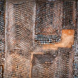 Puzzled-Adrian Popan-bronze-FINE ART-Abstract -4641