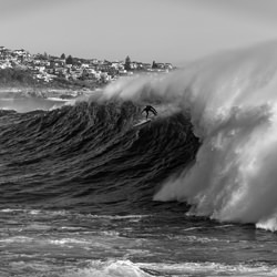 Massive Wave-Steve TURNER-Silber-FINE ART-Landschaft -5125
