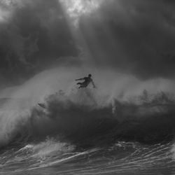 Surfer In Rays-Steve TURNER-Finalist-SPORTS-Extreme Sports-4868