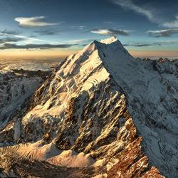 Mt. Cook-Stephan Romer-Bronze-NATUR-Landschaften -4612