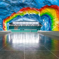 Stockholm art subways-A Tamboly-bronze-ARCHITECTURE-Interiors -4733