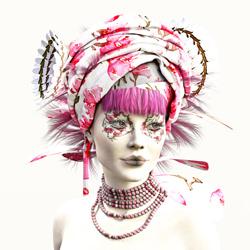 Fast menschlich-Patrizia Burra-Silber-FINE ART-Portrait -5145